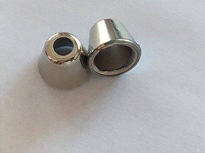 Ponteira Sininho Prata (10 unidades)