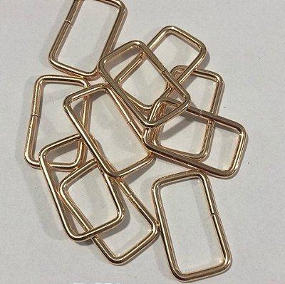 Quadro Passador 4cm Dourado Cataforético (pct 10)