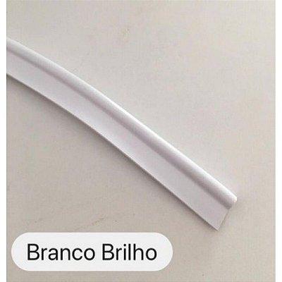 Vivo de Plástico 11mm Branco Brilho