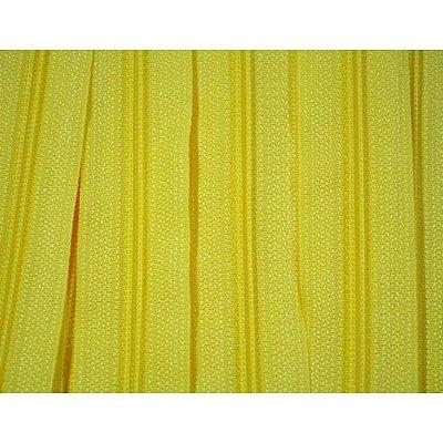 Zíper 3mm Amarelo Escuro