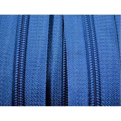 Zíper 3mm Azul Marinho