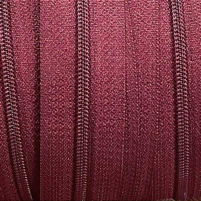 Zíper 3mm Vinho