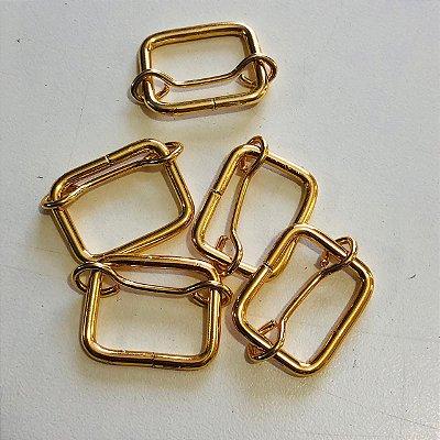 Regulador 2cm Dourado Cataforético (pct 5)