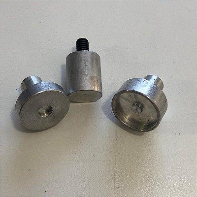 Matriz para Botão de imã 18 c/ rebite
