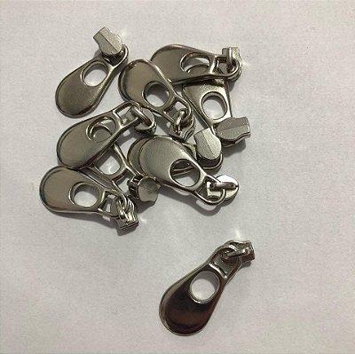 Cursor 3mm Gota Grande Prata (5 unid)