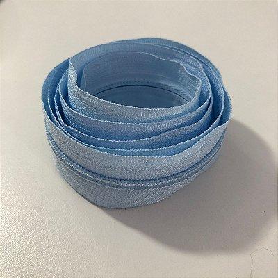 Zíper 5mm Azul Bebê