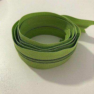 Zíper 5mm Verde Pistache