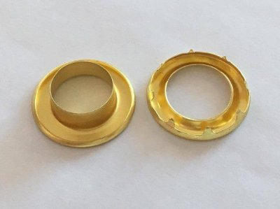 Ilhós Dourado n° 4 (2 unidades)