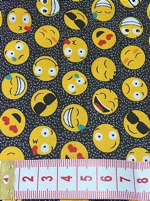 Tecido Emojis
