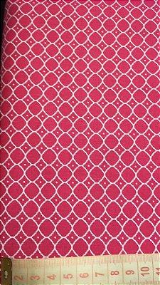 Tecido Arabesco Pink - cor 1951
