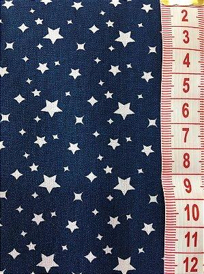 Tecido Estrelas - cor 1878