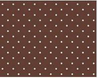 Tecido poá Chocolate - Cor 1603