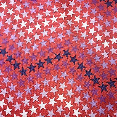 Tecido de Poliéster 420 - Estrelas