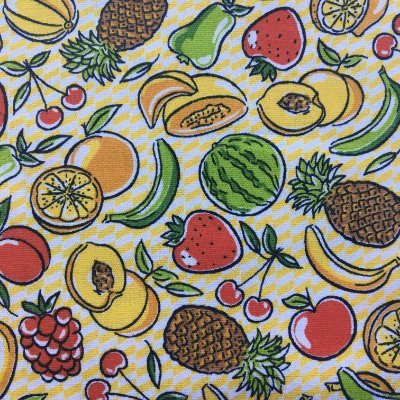 Tecido Frutas- Cor 2020