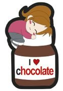 Patch Termocolante I Love Chocolate - Cor 72