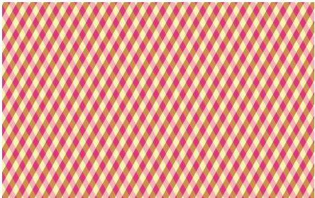 Tecido Xadrez Rosa e Amarelo - Cor 1969