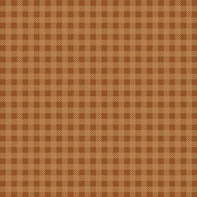 Tecido Xadrez Caramelo