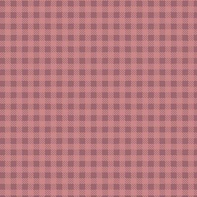 Tecido Xadrez Rosa Antigo