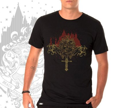 camiseta lisa -  masculina -  Harry Potter