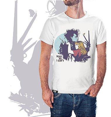 camiseta lisa  -  masculina - Mãos de Tesoura