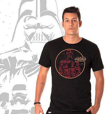 camiseta lisa -  masculina - Star Wars