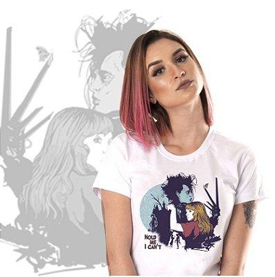camiseta lisa -  feminina - Mãos de Tesoura