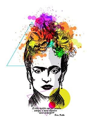 Camiseta - Feminina - Frida Kahlo