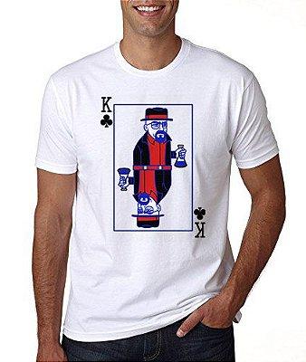 Camiseta branca - Masculina - breaking bad