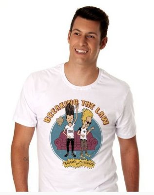 Camiseta Beavis and Butt-head