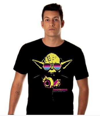 Camiseta Mestre Yoda