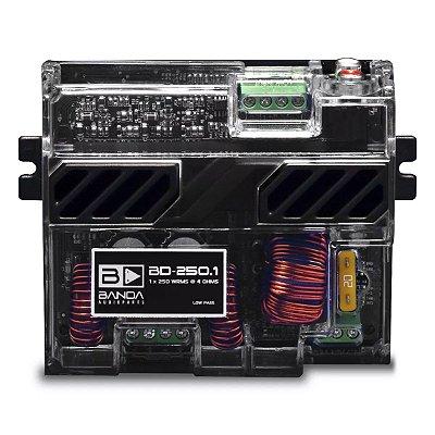 Módulo Amplificador Banda 250.1 250W RMS 1 Canal 4 Ohms Mono RCA