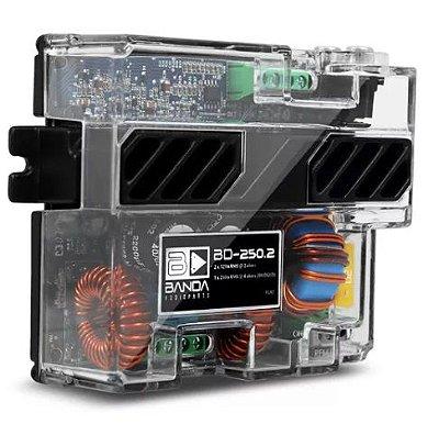 Módulo Amplificador Banda BD250.2 250W RMS 2 Canais 2 Ohms