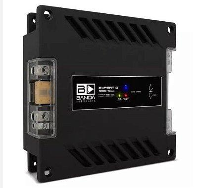 Módulo Amplificador Banda Expert 1201 1200W RMS 2 Canais 1 Ohm