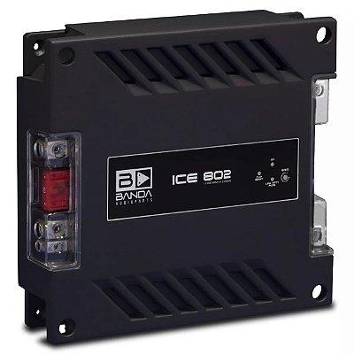 Módulo Amplificador Banda Ice 802 800W RMS 1 Canal 2 Ohms