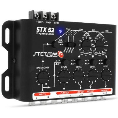 Crossover Stetsom STX52 Frequency Locked 4 Vias Mono ou Stereo‎