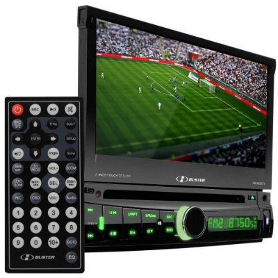 Dvd H-Buster HBD-9820DTV  Retrátil USB TV Digital Touch Screen