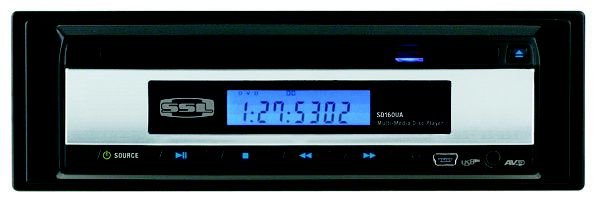DVD Player Automotivo Soundstorm SSL SD160UA 1Din