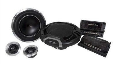 "KIT 2 VIAS LIGHTNING AUDIO 6"" LA 1652-S 90W RMS"