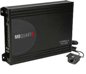 Módulo Amplificador 1 Canal MB Quart FX 1600