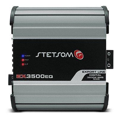 Módulo Amplificador Stetsom Export Line EX 3500EQ 3500W RMS 2 Ohms 1 Canal RCA Digital