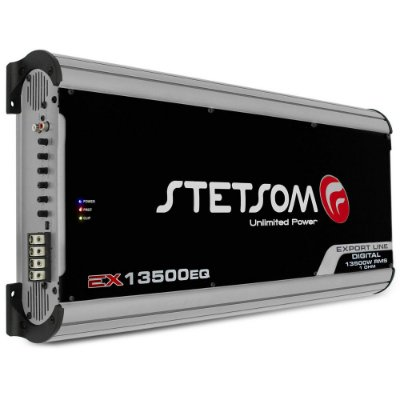 Módulo Amplificador 1 Canal Stetsom EX 13500 EQ 1 Ohm