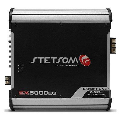 Módulo Amplificador Stetsom Export Line EX 5000EQ 2 Ohms 1 Canal RCA