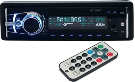 MP3 Automotivo Bluetooth dazz DZ-65967