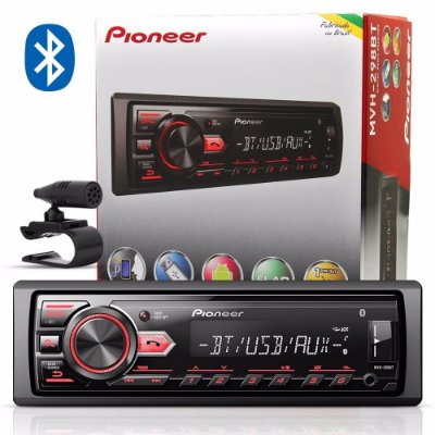 MP3 Receiver Player Pioneer MVH-298BT Bluetooth Usb Android