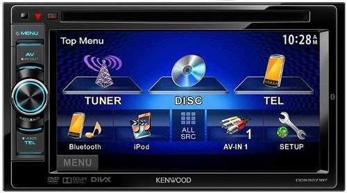 Receptor de DVD com Monitor Kenwood DDX3071BT