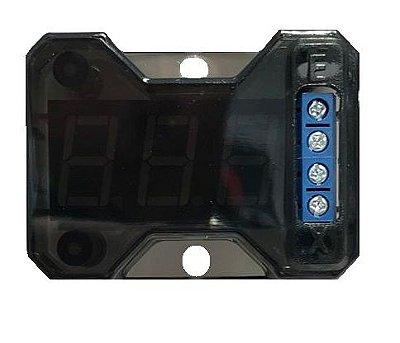 Voltímetro Banda Expert Eletronics VEX 1.0 LED Azul 12,6V Digital  Acrílico Resistente
