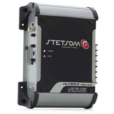 Módulo Amplificador Digital Stetsom Hl 1000.2 1000w 2 Canais