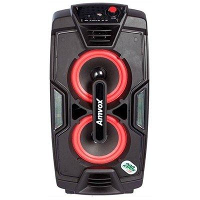 Caixa Amplificada Amvox Bluetooth 200W RMS ACA-200 NEW