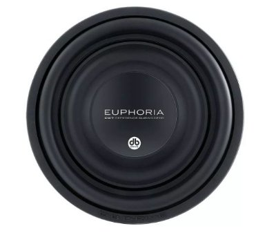 Subwoofer Db Drive Euphoria Ew7 12d4 12