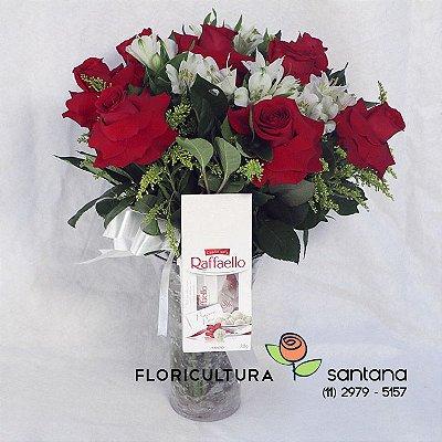Buquê de Rosas Raffaello